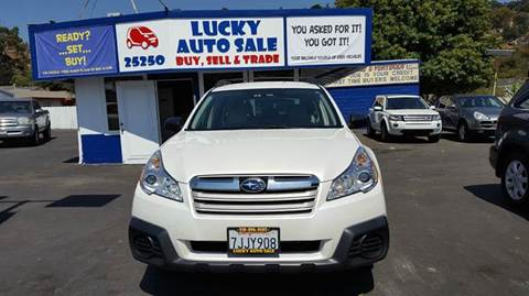 2013 Subaru Outback for sale at Lucky Auto Sale in Hayward CA