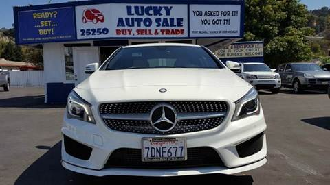 2014 Mercedes-Benz CLA for sale at Lucky Auto Sale in Hayward CA