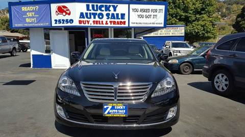 2014 Hyundai Equus for sale at Lucky Auto Sale in Hayward CA