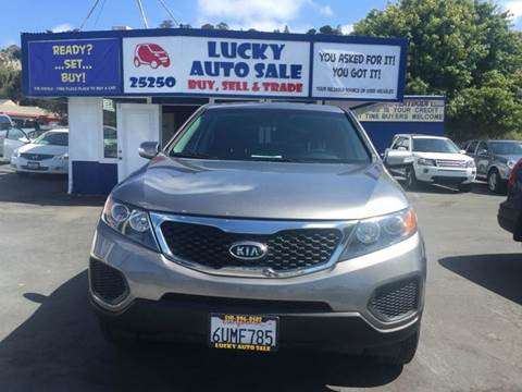 2012 Kia Sorento for sale at Lucky Auto Sale in Hayward CA