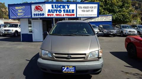 1998 Toyota Sienna for sale at Lucky Auto Sale in Hayward CA
