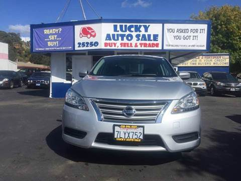 2014 Nissan Sentra for sale at Lucky Auto Sale in Hayward CA