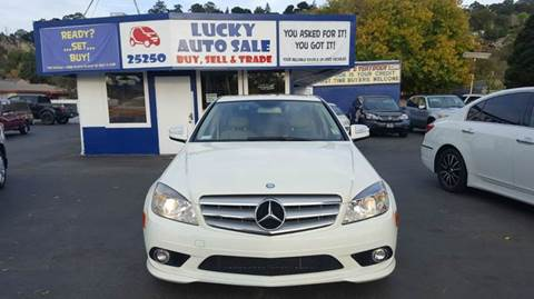 2009 Mercedes-Benz C-Class for sale at Lucky Auto Sale in Hayward CA