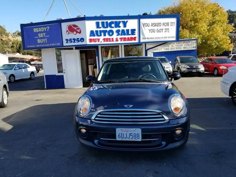 2012 MINI Cooper Hardtop for sale at Lucky Auto Sale in Hayward CA