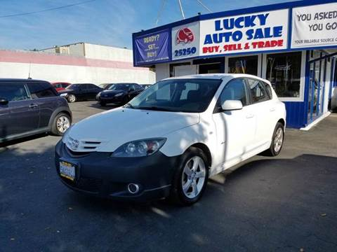2005 Mazda MAZDA3 for sale at Lucky Auto Sale in Hayward CA
