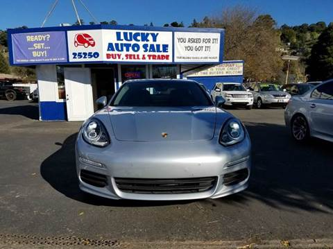 2014 Porsche Panamera for sale at Lucky Auto Sale in Hayward CA