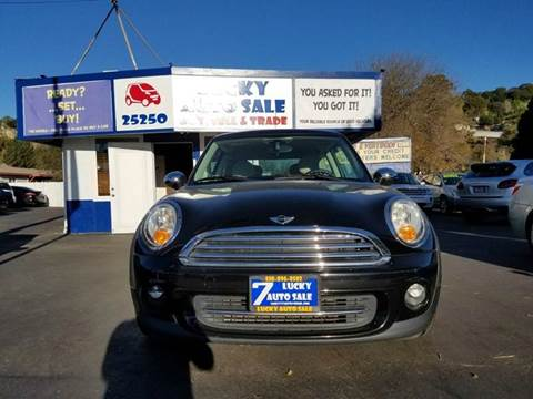 2012 MINI Cooper Hardtop for sale at Lucky Auto Sale in Hayward CA