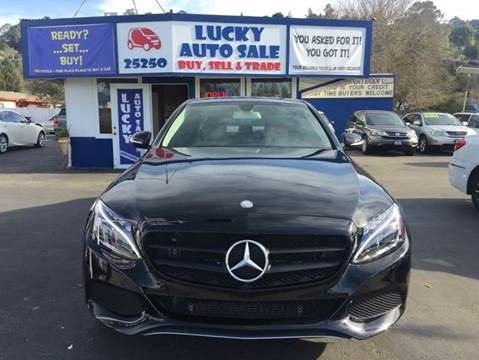 2015 Mercedes-Benz C-Class for sale at Lucky Auto Sale in Hayward CA