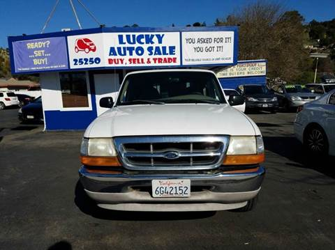 2000 Ford Ranger for sale at Lucky Auto Sale in Hayward CA
