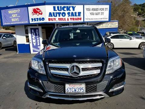 2013 Mercedes-Benz GLK for sale at Lucky Auto Sale in Hayward CA
