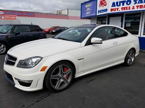 2012 Mercedes-Benz C-Class for sale at Lucky Auto Sale in Hayward CA