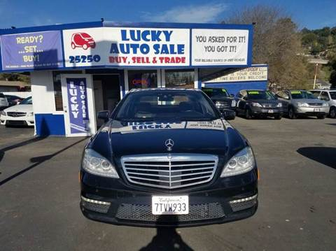 2010 Mercedes-Benz S-Class for sale at Lucky Auto Sale in Hayward CA