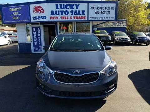 2014 Kia Forte for sale at Lucky Auto Sale in Hayward CA