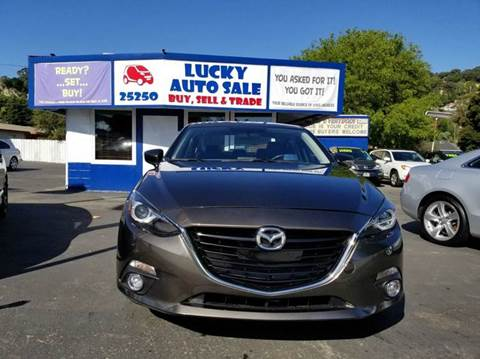 2014 Mazda MAZDA3 for sale at Lucky Auto Sale in Hayward CA