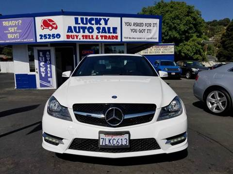 2014 Mercedes-Benz C-Class for sale at Lucky Auto Sale in Hayward CA