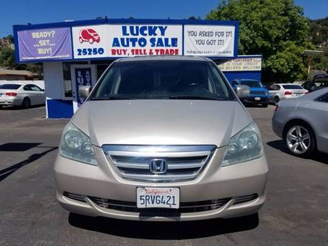 2006 Honda Odyssey for sale at Lucky Auto Sale in Hayward CA