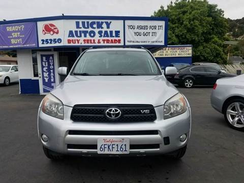 2008 Toyota RAV4 for sale at Lucky Auto Sale in Hayward CA