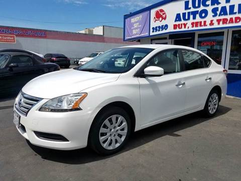 2013 Nissan Sentra for sale at Lucky Auto Sale in Hayward CA