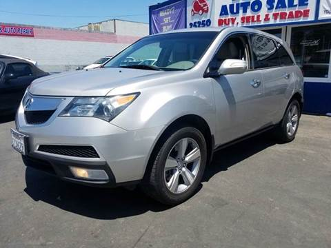 2012 Acura MDX for sale at Lucky Auto Sale in Hayward CA