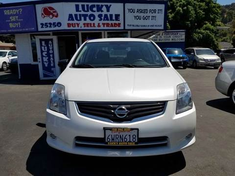 2012 Nissan Sentra for sale at Lucky Auto Sale in Hayward CA