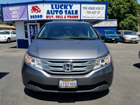 2011 Honda Odyssey for sale at Lucky Auto Sale in Hayward CA