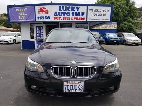2007 BMW 5 Series for sale at Lucky Auto Sale in Hayward CA