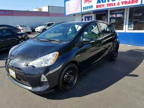 2013 Toyota Prius c for sale at Lucky Auto Sale in Hayward CA