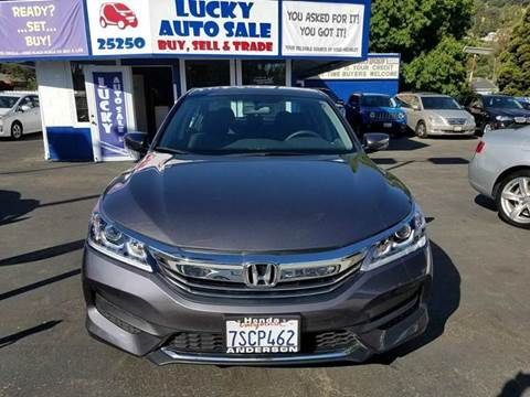 2016 Honda Accord for sale at Lucky Auto Sale in Hayward CA