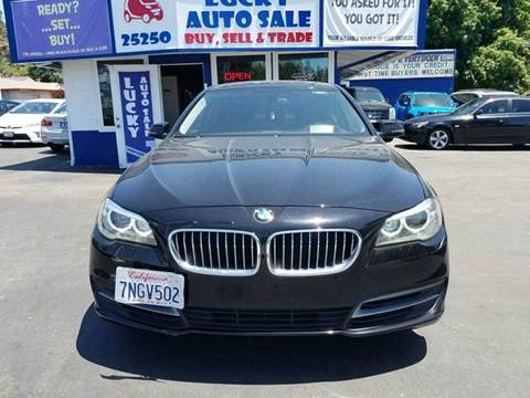 2014 BMW 5 Series for sale at Lucky Auto Sale in Hayward CA