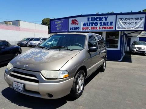 2001 Nissan Quest for sale at Lucky Auto Sale in Hayward CA