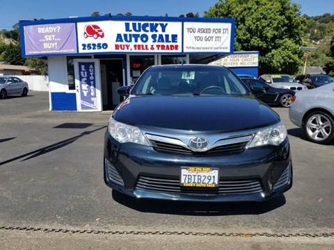 2013 Toyota Camry for sale at Lucky Auto Sale in Hayward CA