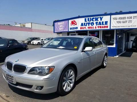 2007 BMW 7 Series for sale at Lucky Auto Sale in Hayward CA