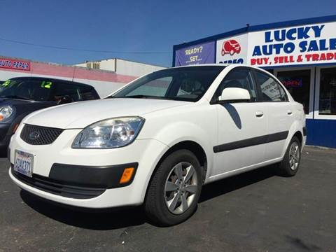 2008 Kia Rio for sale at Lucky Auto Sale in Hayward CA
