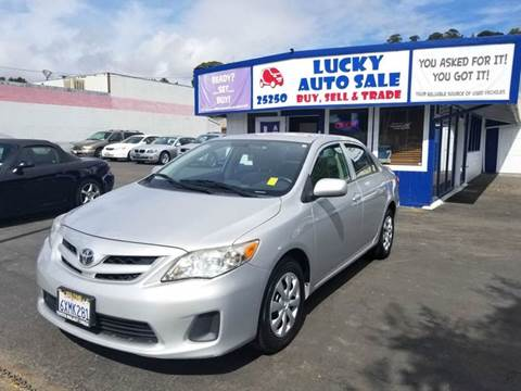 2012 Toyota Corolla for sale at Lucky Auto Sale in Hayward CA