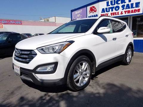 2013 Hyundai Santa Fe Sport for sale at Lucky Auto Sale in Hayward CA