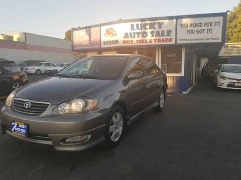 2008 Toyota Corolla for sale at Lucky Auto Sale in Hayward CA