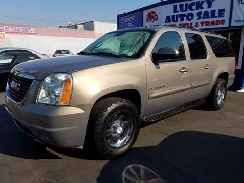 2007 GMC Yukon XL for sale at Lucky Auto Sale in Hayward CA