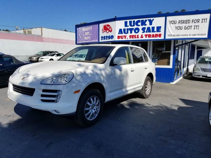 2008 Porsche Cayenne for sale at Lucky Auto Sale in Hayward CA