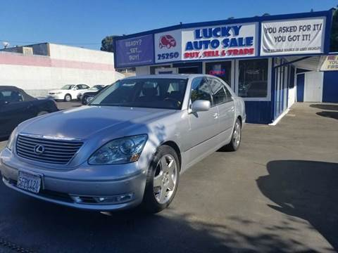 2004 Lexus LS 430 for sale at Lucky Auto Sale in Hayward CA