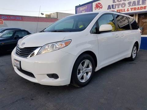 2014 Toyota Sienna for sale at Lucky Auto Sale in Hayward CA