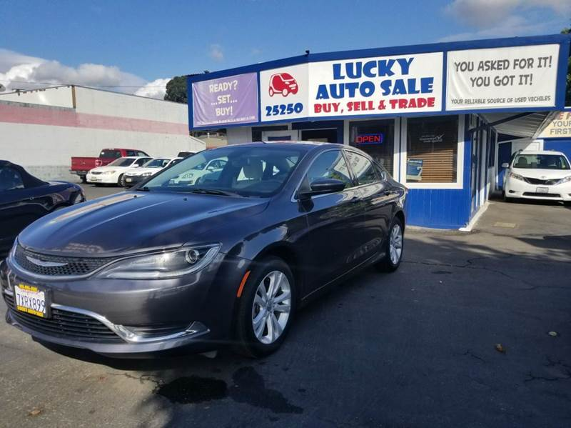 2015 Chrysler 200 for sale at Lucky Auto Sale in Hayward CA