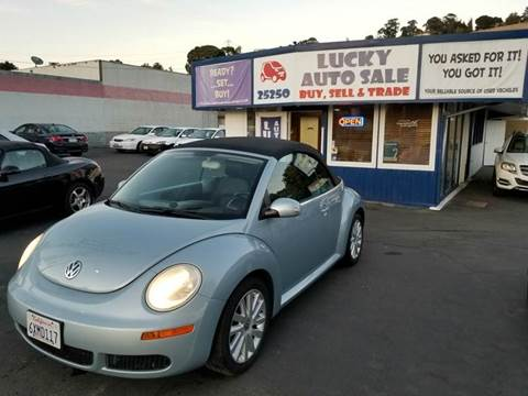 2010 Volkswagen New Beetle for sale at Lucky Auto Sale in Hayward CA