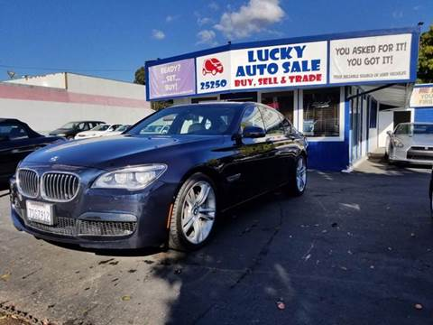 2013 BMW 7 Series for sale at Lucky Auto Sale in Hayward CA