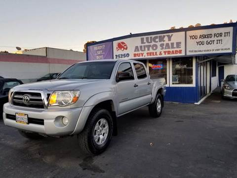 2010 Toyota Tacoma for sale at Lucky Auto Sale in Hayward CA