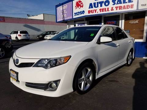 2014 Toyota Camry for sale at Lucky Auto Sale in Hayward CA
