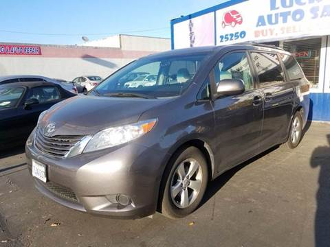 2015 Toyota Sienna for sale at Lucky Auto Sale in Hayward CA