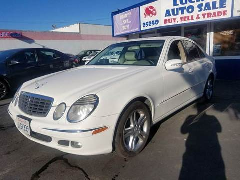 2006 Mercedes-Benz E-Class for sale at Lucky Auto Sale in Hayward CA