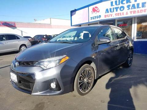 2014 Toyota Corolla for sale at Lucky Auto Sale in Hayward CA