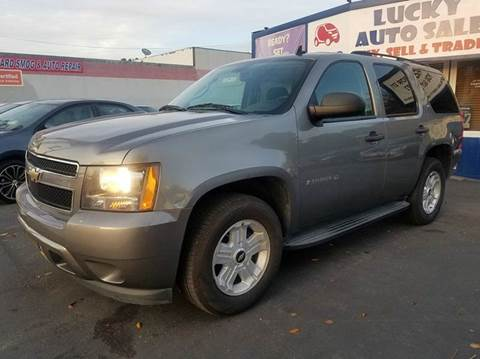 2009 Chevrolet Tahoe for sale at Lucky Auto Sale in Hayward CA