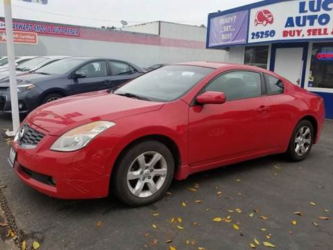 2008 Nissan Altima for sale at Lucky Auto Sale in Hayward CA